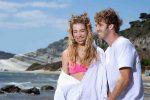 Incorvaia-Ciavarro innamorati in Sicilia, i nuovi scatti dalla Valle dei Templi alla Scala dei Turchi