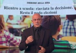 Crozza e quel monologo così drammaticamente ironico: «Perché trattiamo così male la scuola?» Il comico si rivolge al premier Conte - Corriere Tv