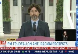 Domanda su Trump. Venti secondi di silenzio del premier canadese Trudeau Il premier canadese Justin Trudeau ha aspettato 20 secondi prima di rispondere a una domanda dalla stampa su quanto sta accadendo negli Stati Uniti - CorriereTV