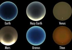 Ecco come si vedrebbe il cielo al tramonto sugli altri pianeti Su Urano blu come la Terra - Corriere Tv