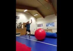 «Flipball», la divertente sfida delle capriole Si chiama Flipball ed è un nuovo passatempo che sta divertendo diversi atleti - Dalla Rete
