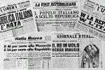 """Il 2 giugno del '46, Calabria divisa e la Repubblica """"bocciata"""" da Vibo Valentia"""