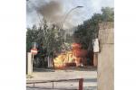 Incendio all'ex mercato coperto di Marina di Gioiosa: probabilmente doloso