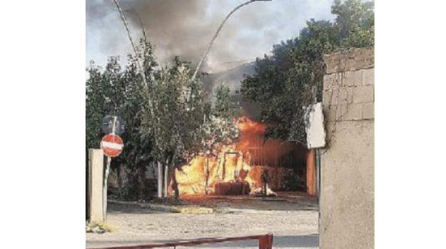 incendio, marina di gioiosa, Reggio, Calabria, Cronaca