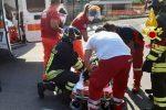 Incidente stradale a Davoli Marina, ferito il conducente di un'auto