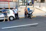 Incidente a Messina, anziano travolto da un'auto in via La Farina: è in gravi condizioni