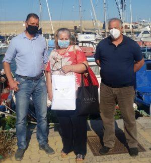 Crotone, kit di protezione individuale e prodotti igienizzanti per i pescatori