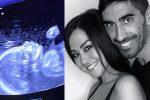 Palmas-Magnini, in arrivo una femmina: sui social foto dell'ecografia annuncia il sesso del bebè