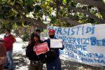 """La protesta di Si Cobas a Messina: """"Il vero virus da abbattere è il sistema economico"""""""