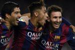 Messi-Suarez-Neymar: il tridente d'oro del Barcellona