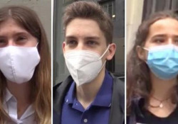 Milano, gli studenti: «Amarezza per l'anno più bello del liceo trascorso chiusi in casa» Al liceo Classico Parini le reazioni dei maturandi e i loro genitori per la maturità 2020 - Corriere TV