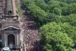 George Floyd, in migliaia in piazza contro il razzismo: il video del corteo a New York