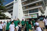 Emergenza rifiuti in Calabria, delegazione di Libera protesta davanti al Consiglio regionale