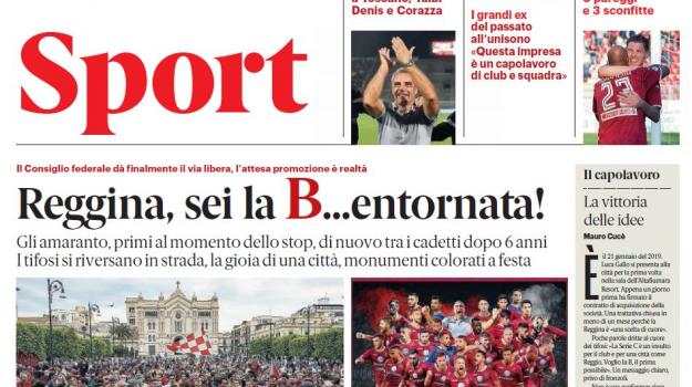 calcio, promozione, serie b, tifosi, Luca Gallo, Massimo Taibi, Mimmo Toscano, Reggio, Calabria, Sport