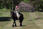Regina Elisabetta, prima uscita a cavallo dopo il lockdown: diffusa la foto