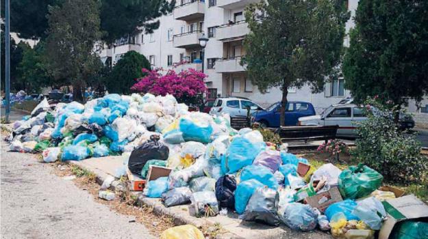 arghillà, rifiuti reggio, Reggio, Calabria, Cronaca