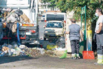 L'emergenza rifiuti sulle strade, a Vibo raccolto solo il 50% dell'indifferenziato