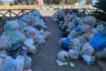 Emergenza rifiuti a Reggio, sporca e senz'acqua: la città è in difficoltà