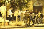 Maxirissa in piazza Catalani a Messina, caccia ai violenti: saranno denunciati