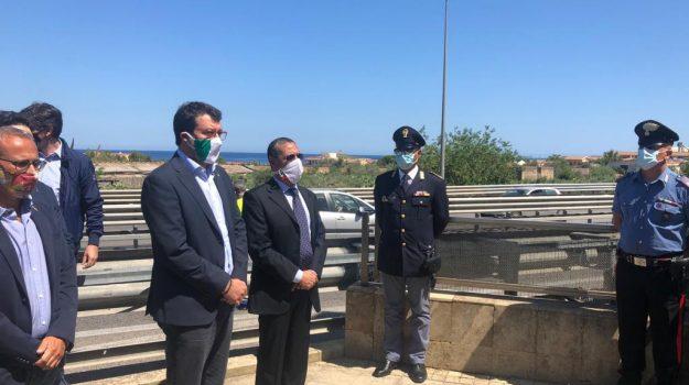 lega, mafia, ponte sullo stretto di messina, Matteo Salvini, Sicilia, Politica