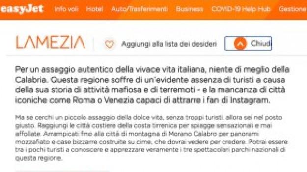 easyjet, lamezia, mafia, terremoti, ERNESTO MAGORNO, Wanda Ferro, Catanzaro, Calabria, Cronaca