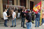 Catania, sciopero Usb vigili del fuoco: forte adesione davanti sede provinciale