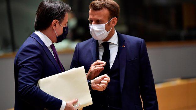 recovery fund, unione europea, angela merkel, Emmanuel Macron, Giuseppe Conte, Sicilia, Politica