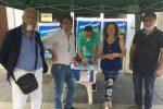 Fratelli d'Italia e Lega tornano in piazza a Vibo, raccolta firme contro il Governo Conte