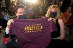 Il premier Conte e la compagna Olivia Paladino presenti alla prima del Cinema America