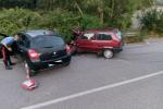 Incidente a Rocca di Caprileone, scontro fra auto: due feriti in ospedale