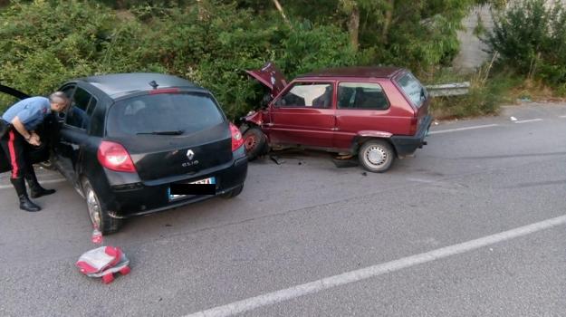 incidente stradale, rocca di caprileone, Messina, Sicilia, Cronaca