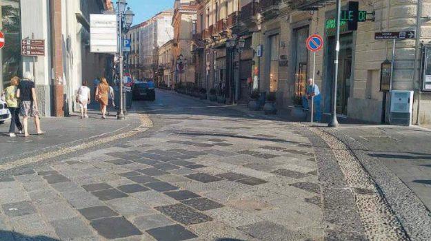 corso mazzini, isola pedonale, Catanzaro, Calabria, Politica