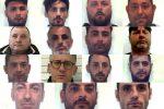 Retata di mafia a Palermo, i nomi e le foto degli arrestati