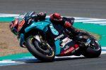 MotoGp, Quartararo cala il bis in Andalusia: Vinales e Rossi sul podio