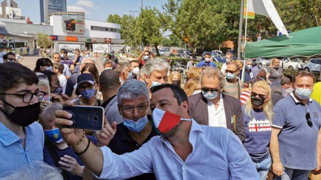 lega, milano, Matteo Salvini, Selvaggia Lucarelli, Sicilia, Cronaca