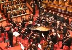 Addio a Ennio Morricone, a gennaio 2020 l'ultimo concerto in Senato L'esibizione lo scorso 11 gennaio alla presenza della Presidente Casellati - Ansa
