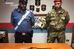 Armi e munizioni nascoste nei terreni, ancora sequestri a Platì e Sant'Ilario dello Ionio