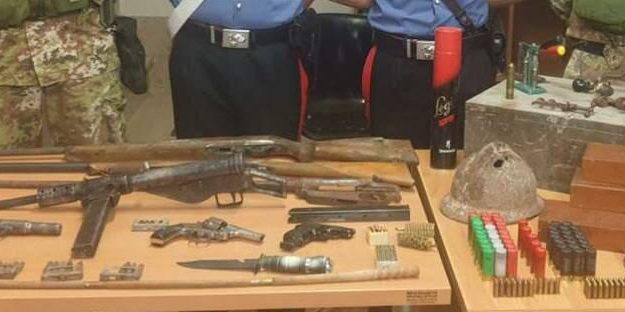 armi, munizioni, Anna Gallo, Giuseppe Scarcella, Reggio, Calabria, Cronaca