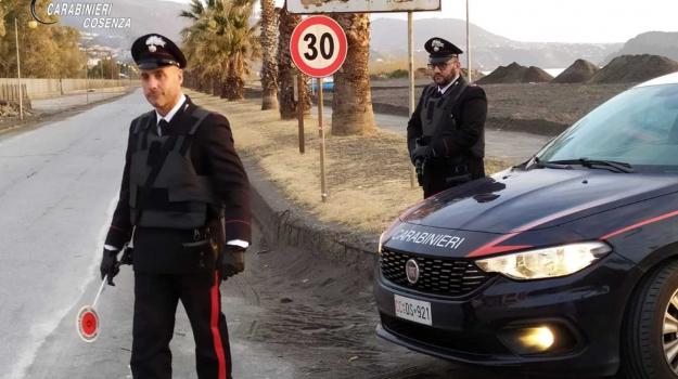 carabinieri, controlli, Cosenza, Calabria, Cronaca