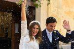 Matrimonio a Favignana per Caterina Balivo, la sorella Sarah si è sposata sull'isola