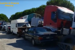 Messina, auto abbandonate su un terreno a Tremestieri: denunciato il proprietario