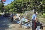 Rifiuti abbandonati, tre discariche sequestrate a Scilla