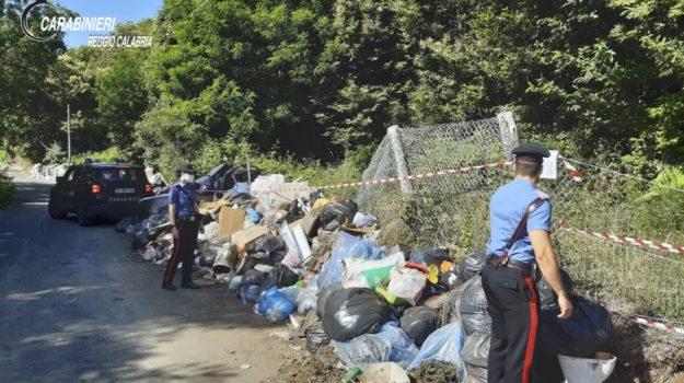 discarica, rifiuti, scilla, Reggio, Calabria, Cronaca