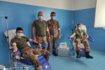 """I militari del Raggruppamento Strade Sicure """"Calabria"""" donano il sangue su tutto il territorio"""