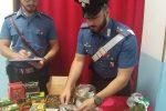 Santa Severina, arrestato un 35enne di Roccabernarda: nascondeva droga e munizioni in casa