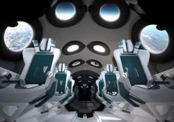 Ecco come saranno le cabine sullo SpaceShipTwo Virgin Galactic ha svelato gli interni dello spazioplano - CorriereTV