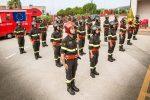 Vigili del fuoco, a Lamezia giuramento dei 21 allievi calabresi dell'87° corso