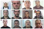 Mafia di Barcellona, condanne in appello nel processo Gotha VII - Nomi e foto