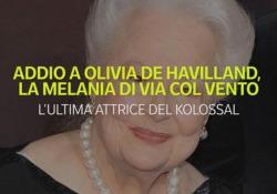 Il cinema piange olivia De Havilland, la Melania di «Via col vento» Morta a Parigi a 104 anni la due volte vincitrice del premio Oscar - Ansa