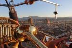 Il concerto del trio di Ottoni del Maggio Musicale Fiorentino in volo (su una mongolfiera) nei cieli di Firenze